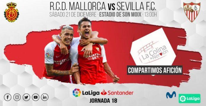 Imagen de la previa entre Mallorca y Sevilla
