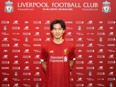 Minamino, uno de los podría haber sido fichajes del Sevilla, jugará en el Liverpool | Imagen: Liverpool FC