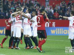 Sevilla FC jugando ante el CD Mirandés en Copa del Rey || Imagen: Ismael Molina