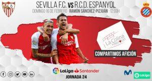 El Sevilla FC se enfrentará al RCD Español el próximo domingo a las 12:00