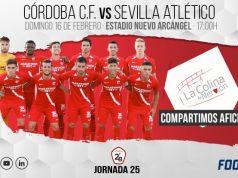 El Sevilla Atlético se enfrentará al Córdoba CF el próximo domingo a las 17:00