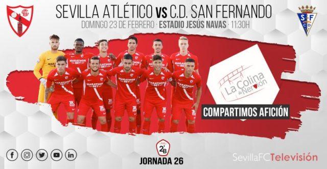 Previa del partido entre el Sevilla Atlético y el San Fernando