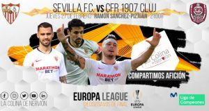Imagen previa partido Sevilla Cluj