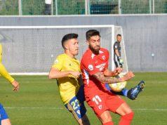 Pejiño, en el partido entre el Sevilla Atlético y el Cádiz B | Imagen: Cádiz B