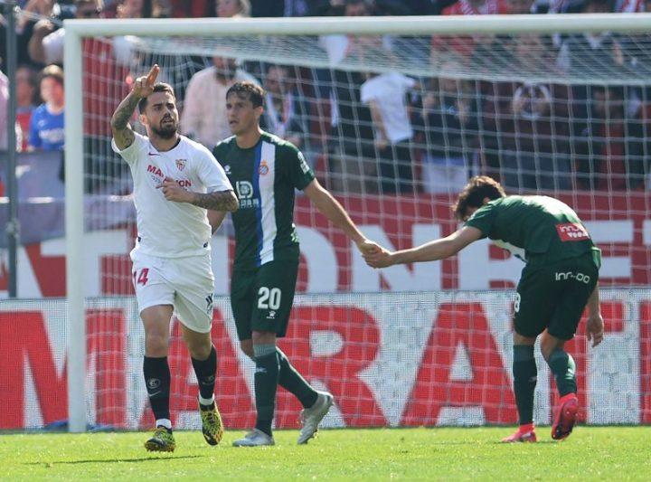 fútbol en tv hoy partido Suso sevilla fc noticias rcd espanyol
