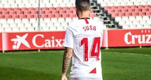 Suso, durante su presentación como jugador del Sevilla FC | Imagen: La Colina de Nervión - Ana Marín