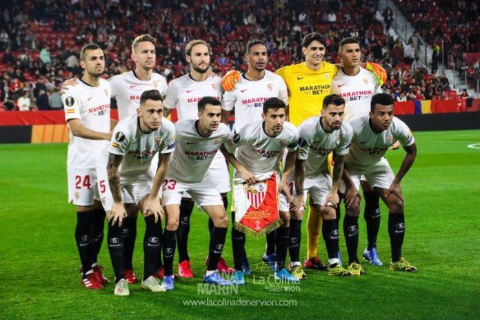El once del Sevilla Fútbol Club ante el Cádiz