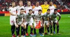 Once titular del Sevilla FC en el encuentro ante el Cluj