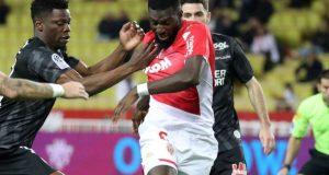 Bakayoko, posible fichaje del Sevilla FC, durante un encuentro con el AS Mónaco. | Imagen: AS Mónaco