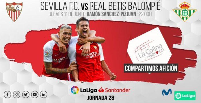 Imagen de la previa del Sevilla FC - Real Betis   LCDN