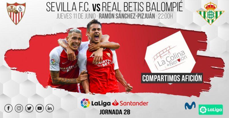 Imagen de la previa del Sevilla FC - Real Betis | LCDN