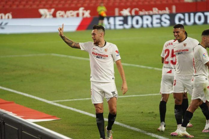 El Sevilla FC acaricia la Champions con su victoria ante el Mallorca