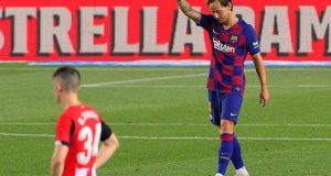 Fichajes Sevilla FC: Rakitic || Photo by PAU BARRENA/AFP via Getty Images