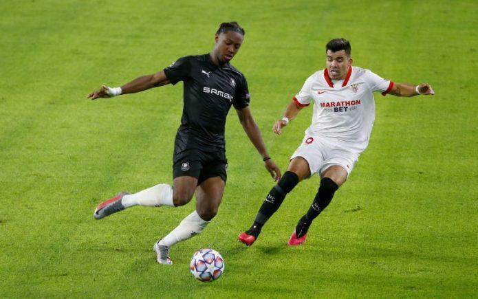 El partidazo de Acuña y la falta de puntería ante el Rennes