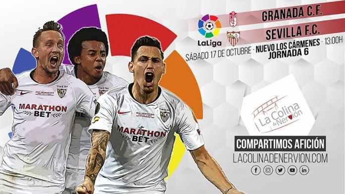 El Sevilla FC y el Granada, a por un partido marcado por las bajas