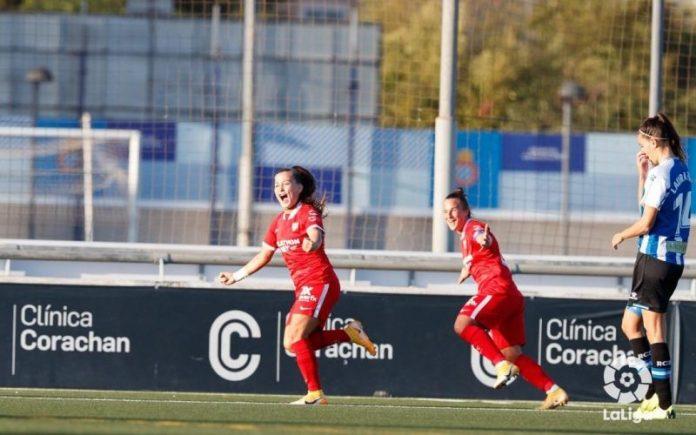 Goleada al Espanyol y tercera victoria consecutiva en Primera Iberdrola