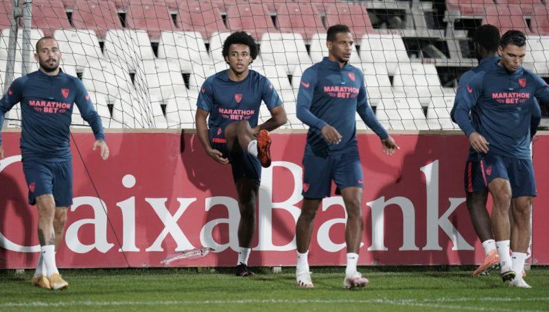 Sevilla FC COVID Entrenamiento