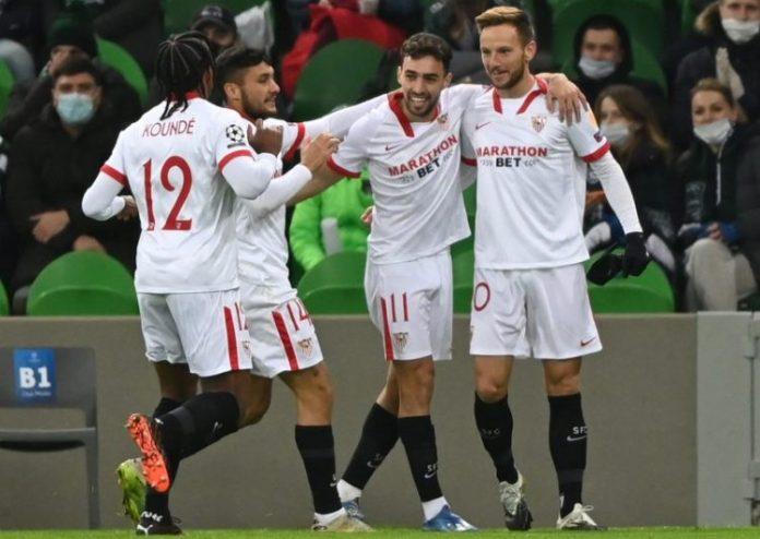 El Sevilla FC vence en Krasnodar y sella el pase a octavos