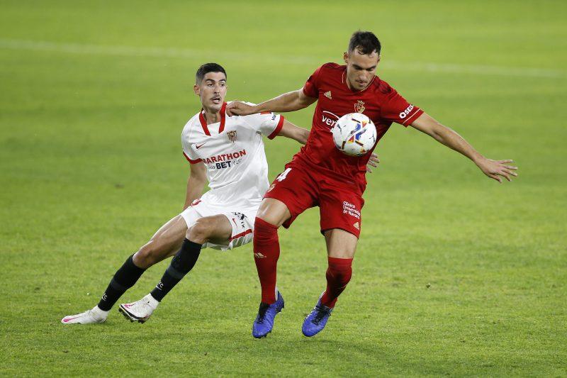 Carlos Fernández en el Sevilla FC- CA Osasuna, fichajes para solucionar la sequía goleadora.