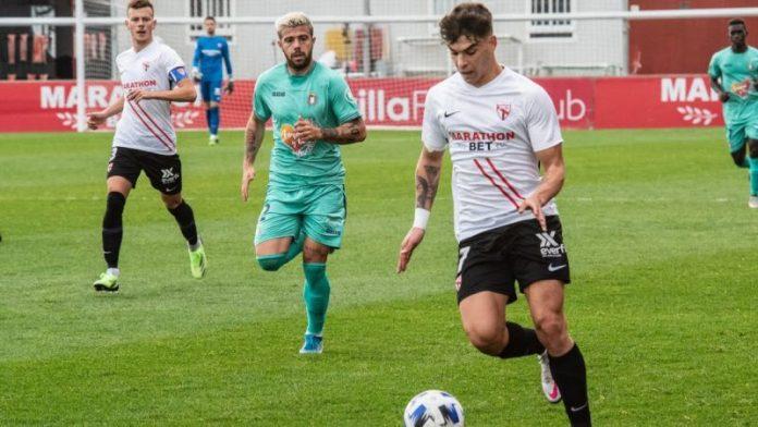 VÍDEO |La goleada (4-0) del Sevilla Atlético al Lorca Deportiva