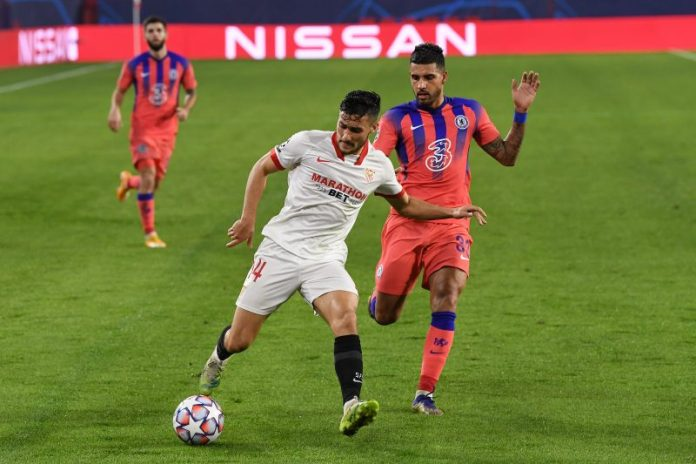 El Sevilla paga las rotaciones y sucumbe goleado ante el Chelsea