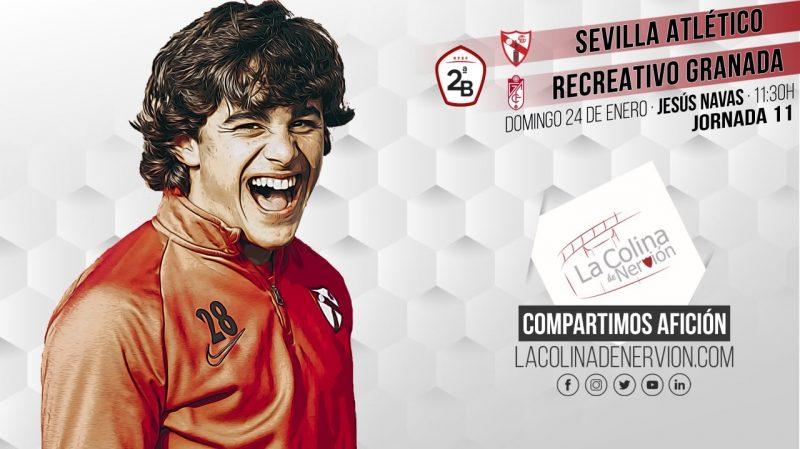 Previa del partido entre el Sevilla Atlético y el Recreativo Granada.
