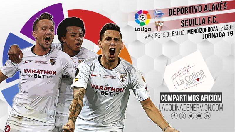 Previa del partido entre Alavés y Sevilla FC