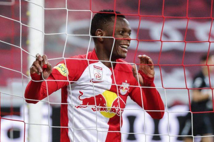 El Sevilla FC, interesado en los goles de Patson Daka