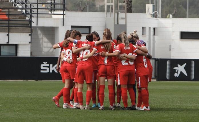 Los goles de Claudia Pina dan la victoria al Sevilla FC en Valencia