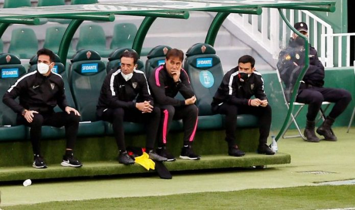 Lopetegui: «El primer responsable siempre es el entrenador»