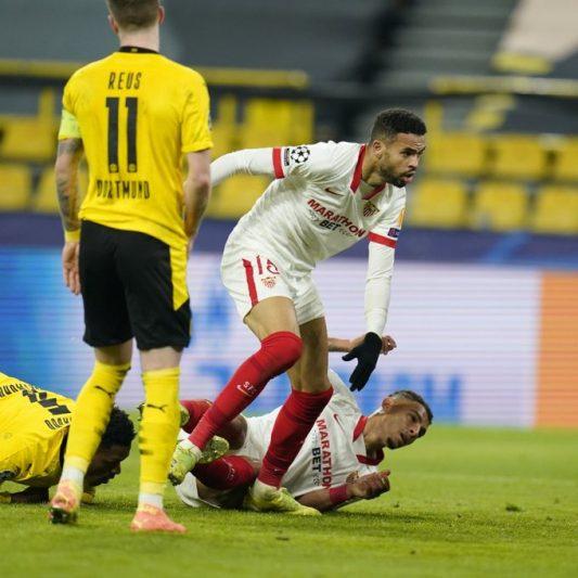 Ni la mejor versión del Sevilla FC vale contra Haaland