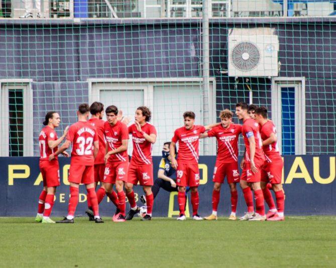 El Sevilla Atlético saca un valioso empate de tierras canarias