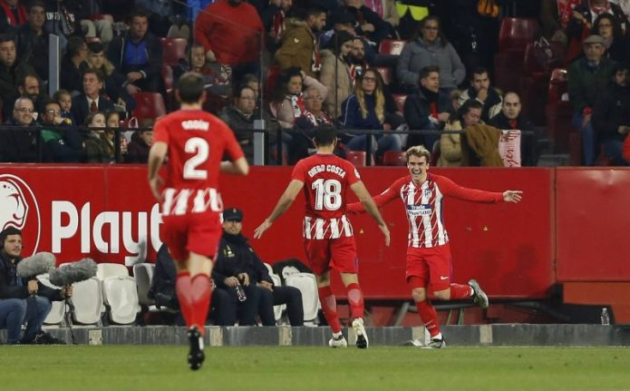 Las cuentas pendientes del Sevilla FC con el Atlético de Madrid
