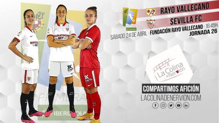 El Sevilla FC Femenino, a Vallecas con el objetivo de seguir sumando