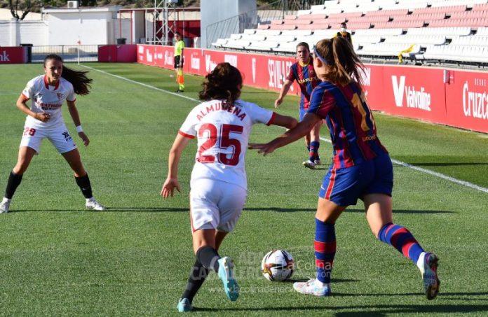 Injusta goleada del FC Barcelona a un buen Sevilla FC que compitió de tú a tú