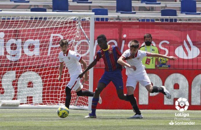 El Sevilla FC, subcampeón de LaLiga Promises