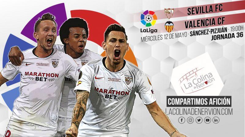 Previa del partido entre el Sevilla FC y el Valencia CF