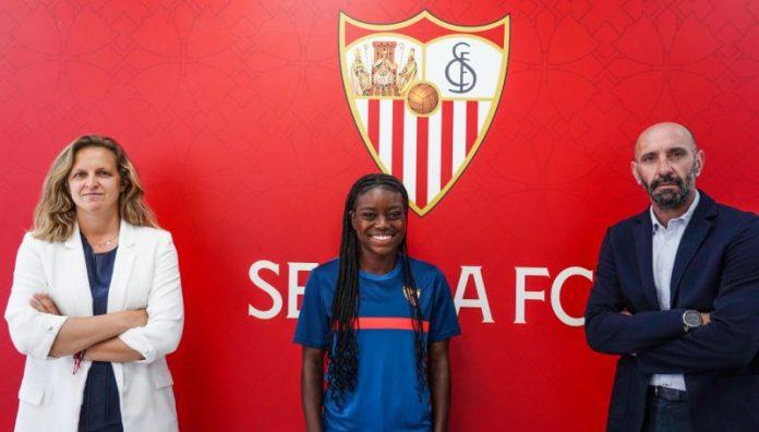 Toni Payne, renovada con el Sevilla FC Femenino hasta 2024