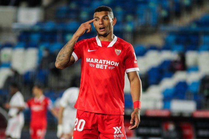 Diego Carlos: «Estoy contento en el Sevilla FC»
