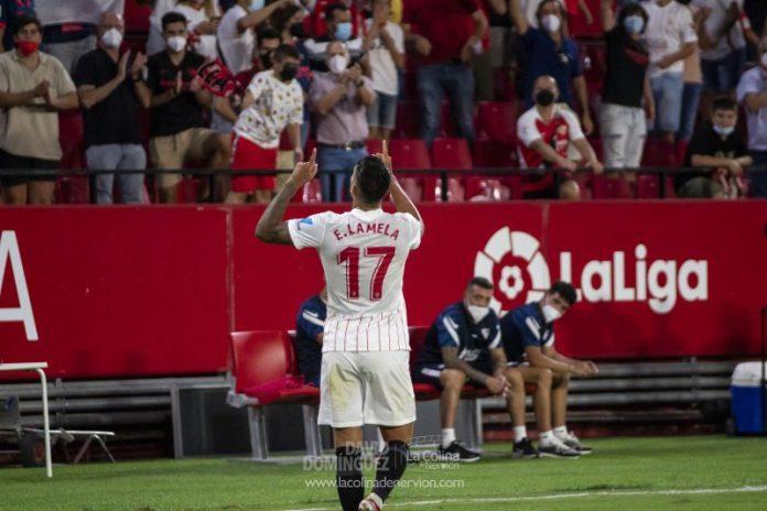 Erik Lamela y En-Nesyri logran el sobresaliente en el debut del Sevilla FC
