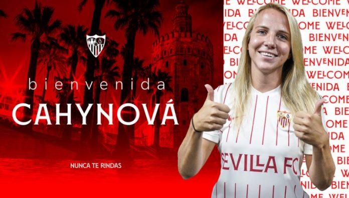 Klára Cahynová, talento para la medular del Sevilla FC Femenino