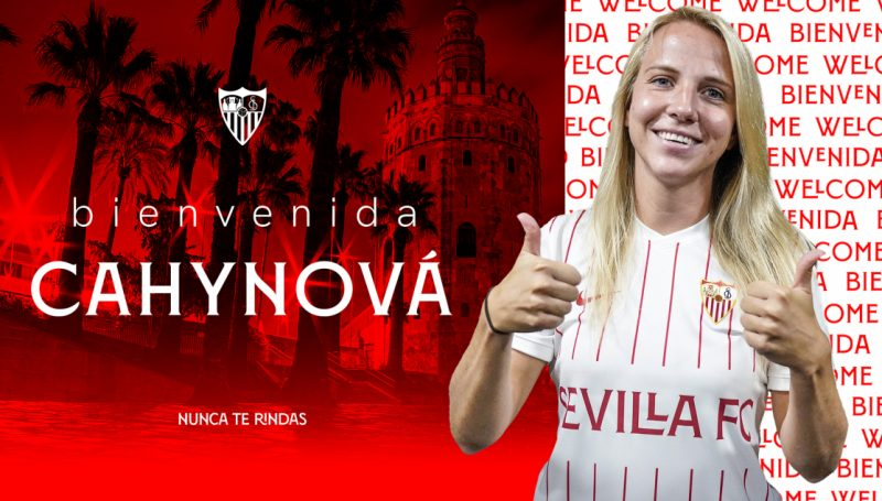 Klara Cahynová Sevilla FC fichajes
