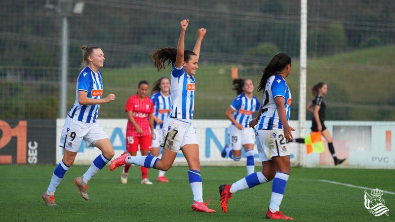 Liga Iberdrola Real Sociedad Femenino Sevilla FC Femenino
