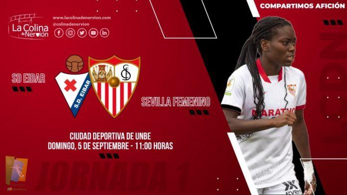 Eibar, primera piedra de toque del Sevilla FC en la Liga Iberdrola