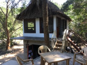 The Selva Vista Sky Casita - rustic luxury in the Mexican jungle Sept 2018