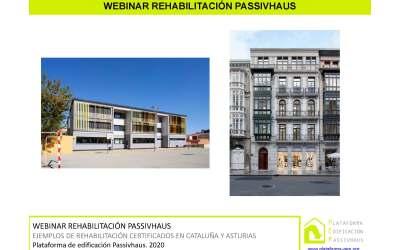 La colondra participa en el webinar de PEP sobre rehabilitación – Edificio de oficinas PASSIVHAUS
