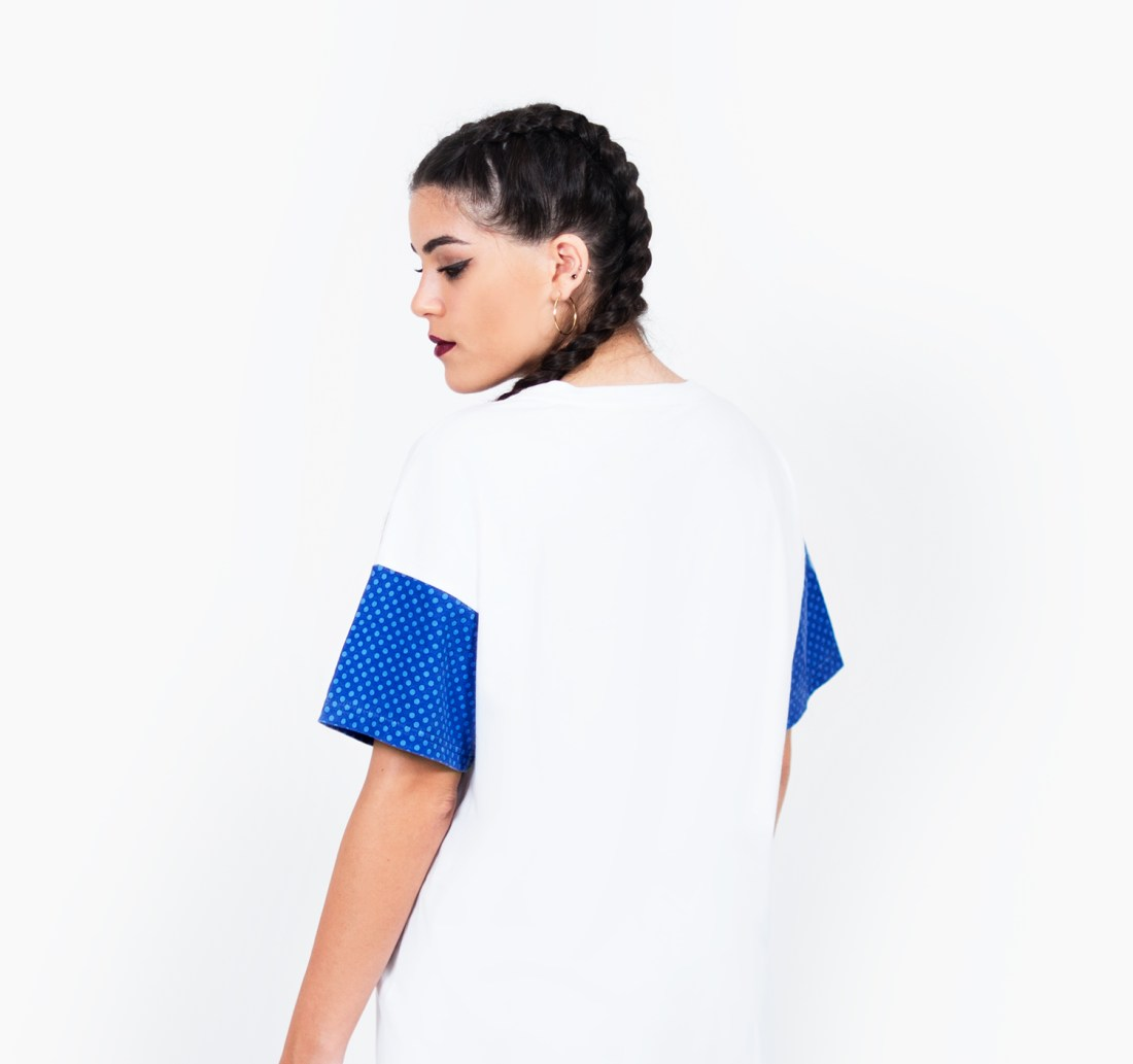 Perfect Match Oversized T-shirt by La Come Di