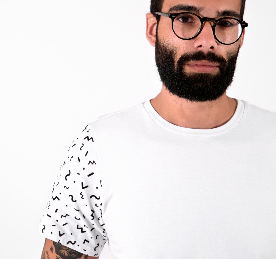 Palm Tree T-shirt by La Come Di