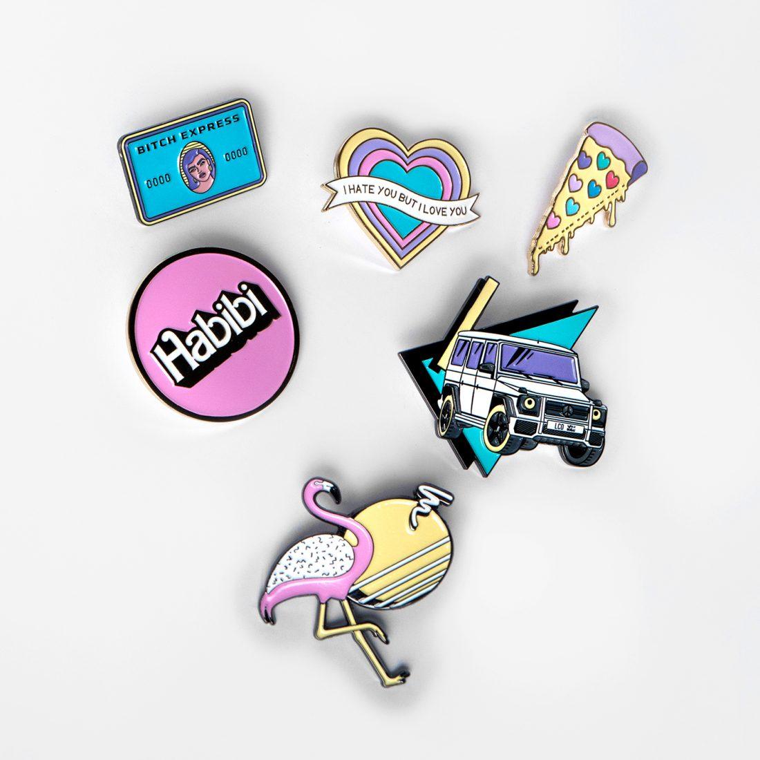 All Plastique Pins Set Plastique Collection By La Come Di