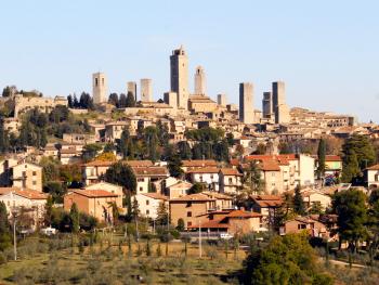 San Gimignano patriua della Vernaccia